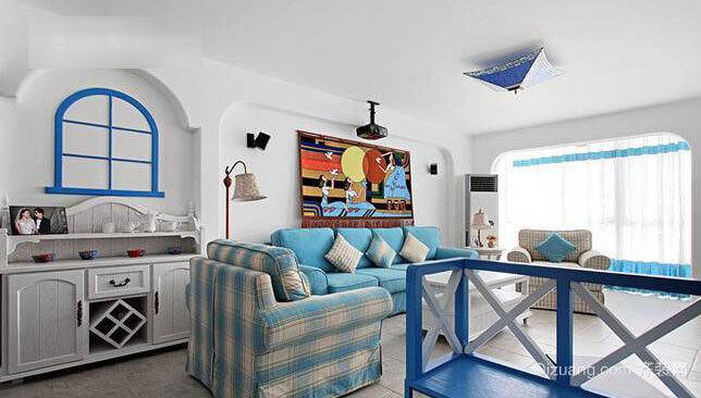 实现假日梦想90平米两室一厅房屋装修效果图