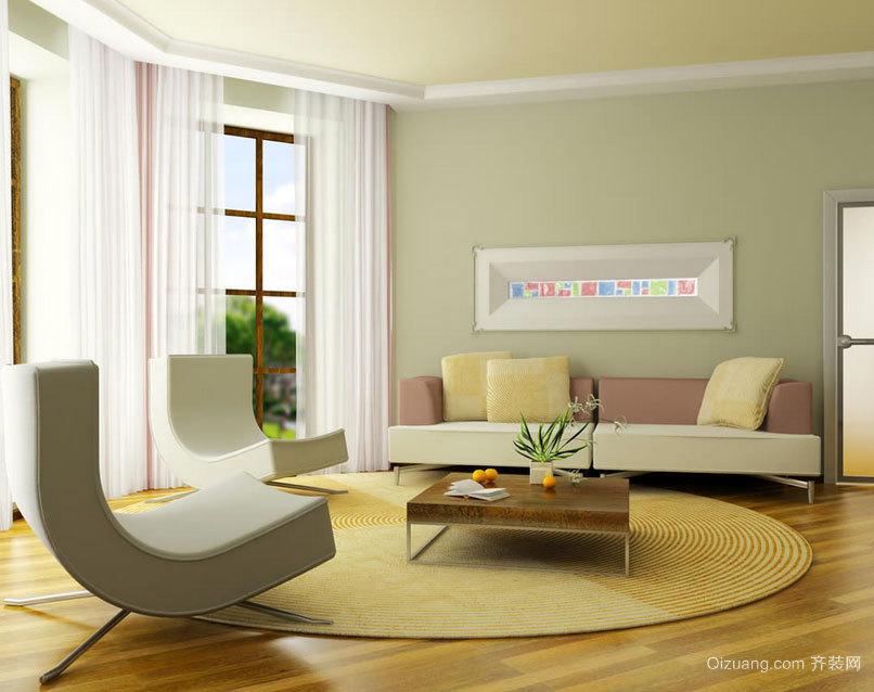 赏心悦目的大方欧式客厅吊顶装修效果图实例