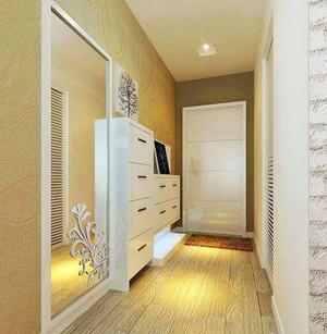 白色调鞋柜设计图片