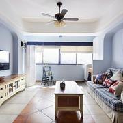两室一厅客厅装修设计