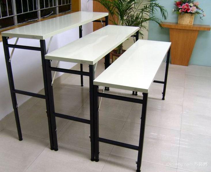 精美家庭收放自如的创意平板折叠桌装修效果图鉴赏