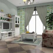 现代创意电视柜装修