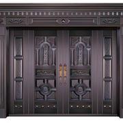 灰色调大门装修设计
