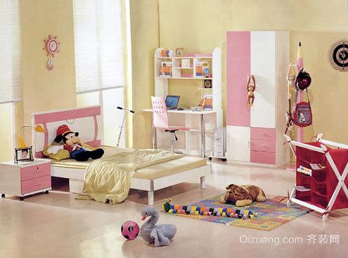 色彩丰富 绚烂多姿的儿童房装修效果图