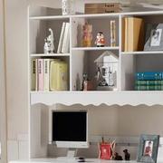 淡雅风格书柜装修设计