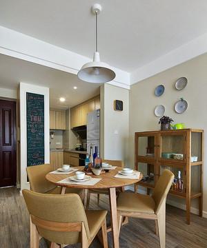 120平米文艺范十足的清新混搭风格公寓装修效果图