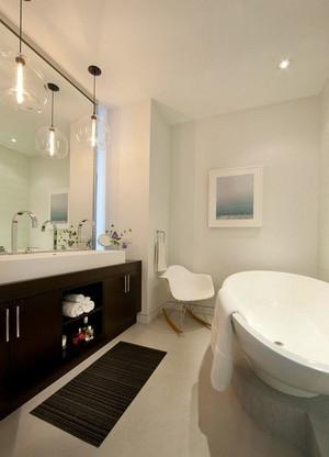 精巧玲珑的都市小户型卫生间装修效果图实例