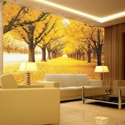 温馨型客厅背景墙