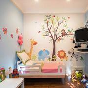 唯美风格儿童房装修