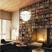 宜家风格书柜装修设计