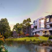 清新型别墅设计图片