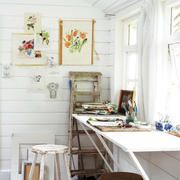 书房背景墙效果图片