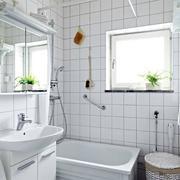 清新型卫生间设计
