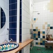 清爽型卫生间设计