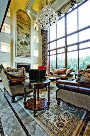 不流于表面的古典家居室内装饰画装修效果图