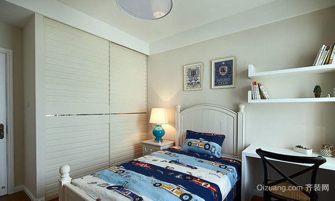 两居室清新简约儿童房装修效果图
