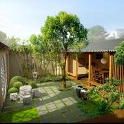 绿意浓浓花园装修设计