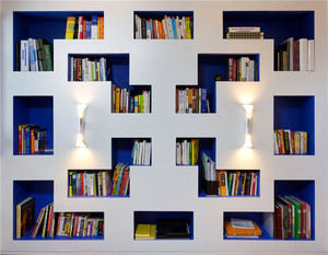 公寓书架装修设计