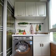 阳台洗衣机设计图片