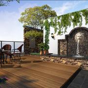 花园木地板装修设计
