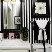 浴室镜子装修图片