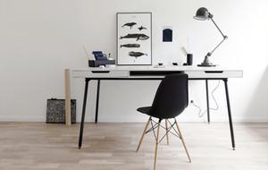 书房书桌效果图片