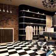 服装店地板砖装修