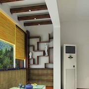 暖色调阳台设计图片