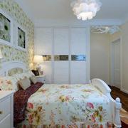 唯美型卧室衣柜装修