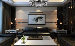 138平米后现代风格空中玻璃果图走廊吊顶装修效