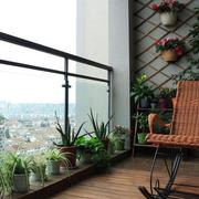 透气的阳台设计图片