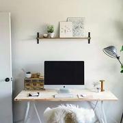 书房电脑桌效果图片
