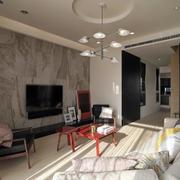 冷色调公寓装修设计