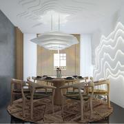 饭店餐桌设计图片