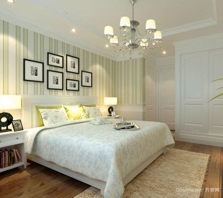 单身公寓别具一格的都市现代简约主卧装修效果图大全