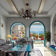 欧式风格客厅背景墙