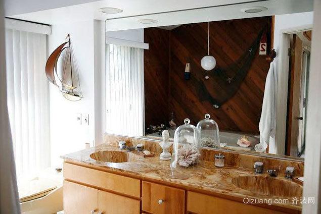 带你畅游海洋世界的公寓家居墙面装饰设计效果图