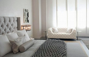 女生钟爱的2015新款白色镂空隔断设计效果图