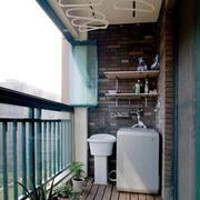采光充足阳台设计图片