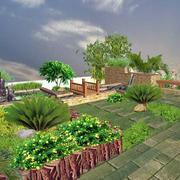 花园花坛装修设计