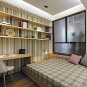 自然风格榻榻米床装修