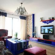 别墅客厅背景墙图片