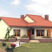 斜顶别墅设计图片