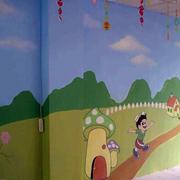 充满创意手绘墙设计