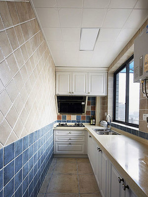 两室一厅厨房装修图片