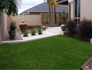 小径幽幽剪草深富有诗意的园艺设计效果图鉴赏