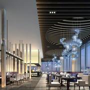 清新亮丽饭店设计大全