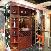 古典韵味酒柜设计图片
