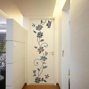 唯美风格墙贴设计图片