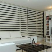自然风格客厅电视背景墙